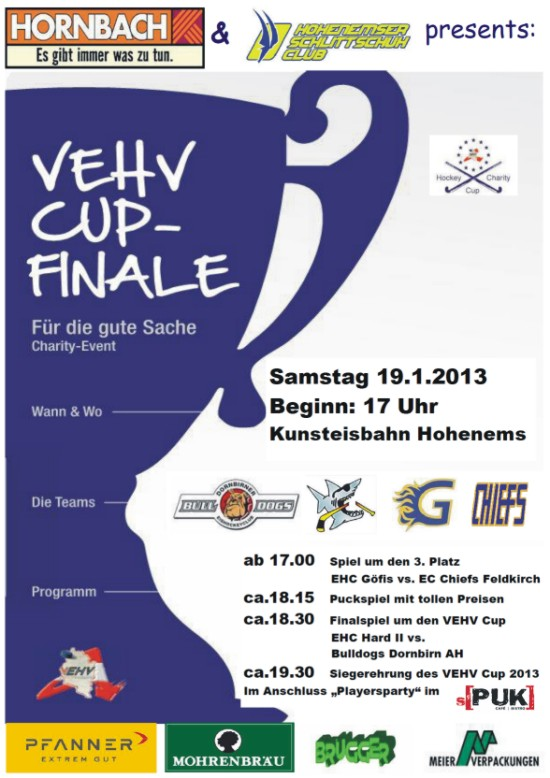 VEHV Cupfinale in Hohenems