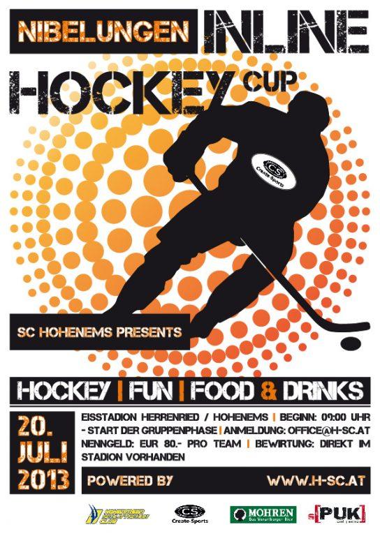 """Nibelungen Inline Hockey Cup"" presented by SC Hohenems!"