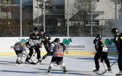 Emser Hockey-Kids im Einsatz