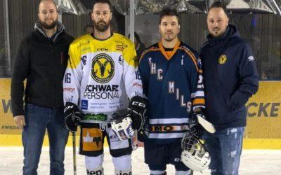 Drei weitere Punkte für Ems-Hockey