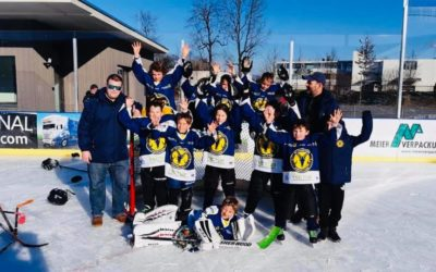 Hockey Youngsters im Herrenried