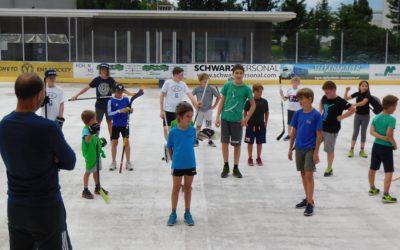 HSC Youngsters schwitzen für die Eiszeit