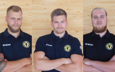Drei Youngsters für die Steinböcke