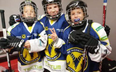 Emser Hockeyteams im Einsatz