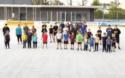 Hockey-Kids starten ins Sommertraining